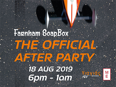 Farnham Soapbox After Party
